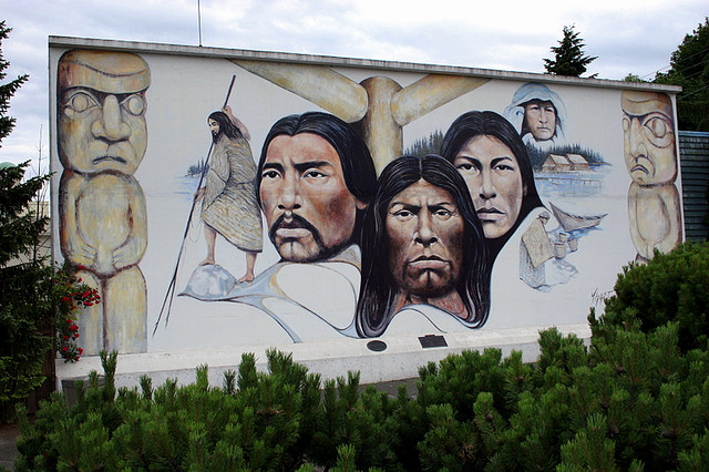 Chemainus mural